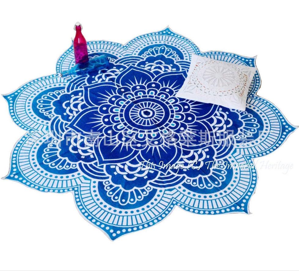 Hot summer szyfonowa wall hanging tapestry koc ręcznik plażowy duży mediter flora miękkie narzuta yoga mat obrus home decor 5