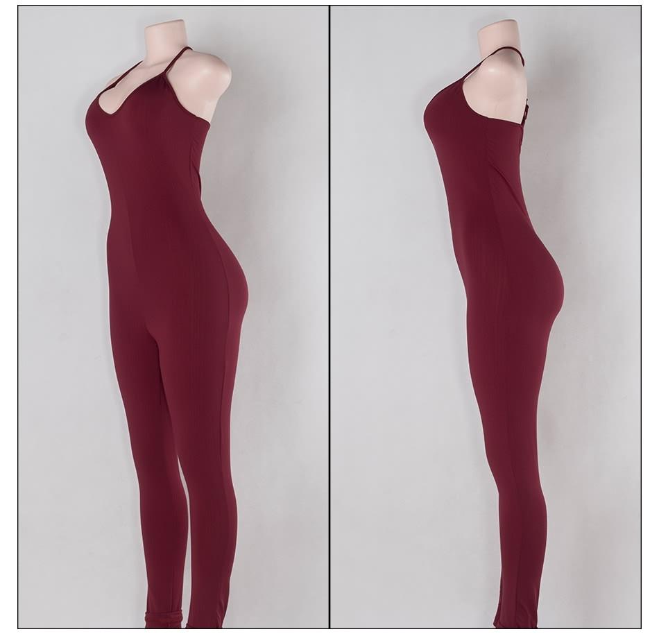 Sedrinuo 2017 lato new arrival regularne casual mody szyi sexy pajacyki kobiet kombinezon kombinezon dla kobiet 6 kolory 7160 19