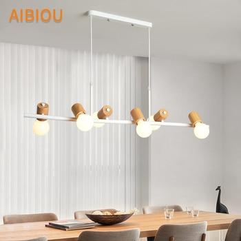 Comparar AIBIOU Ajustable LED luces colgantes para comedor lámpara ...