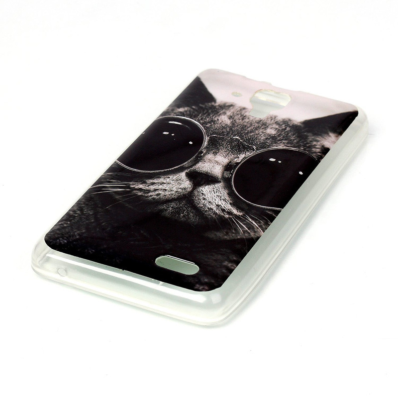 Lenovo A536 Case Ultra Thin Miękkiego Silikonu TPU Case dla Lenovo Z 536 Telefon komórkowy Protective Back Cover Case Drop wysyłka 26