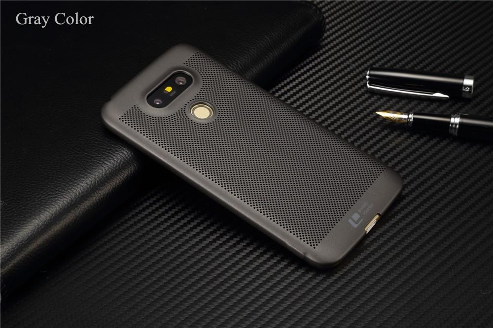 Luksusowa marka ultra thin Nowy siatka powrót pokrywy skrzynka dla LG przypadkach i pokrowce na g5 G5 oryginalne akcesoria 1