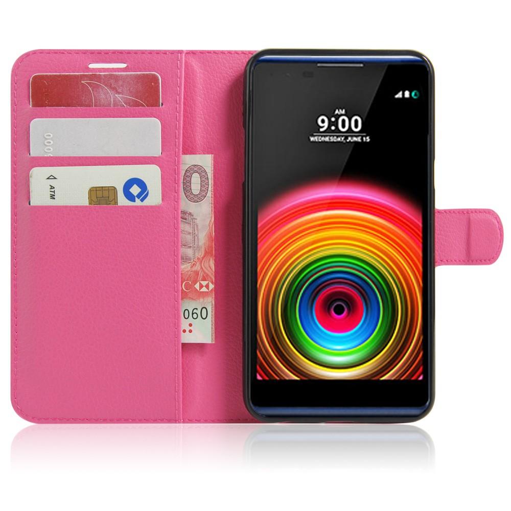 Dla lg x power k220ds case odwróć portfel pu skórzane etui telefon dla lg x power k210 k220 pokrywa uchwyt stojak telefon fundas ls755 torba 12