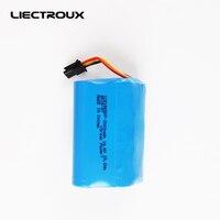 Liectroux (bateria original para aspirador de pó robô, q7000, q8000, zk808), 2000mah, célula de lítio, 1 segundo, peças de ferramentas de limpeza