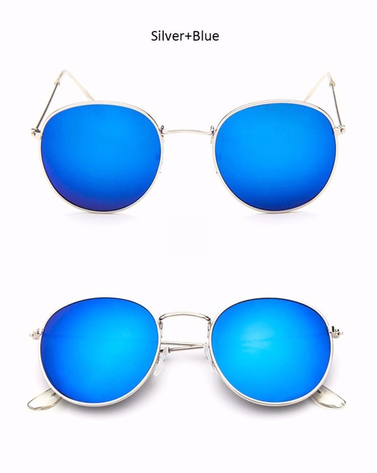 Vintage Round Mirror Sunglasses 11