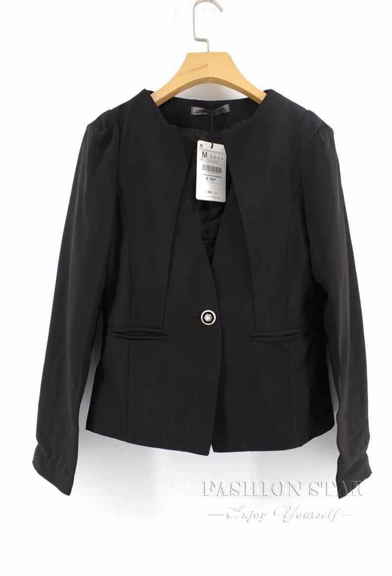 RealShe 2016 Kobiet Kurtki Długi Rękaw Garnitur Marynarka damska Marynarka Casual Mujer Feminina Plus Size Blazer Feminino Kurtki 65