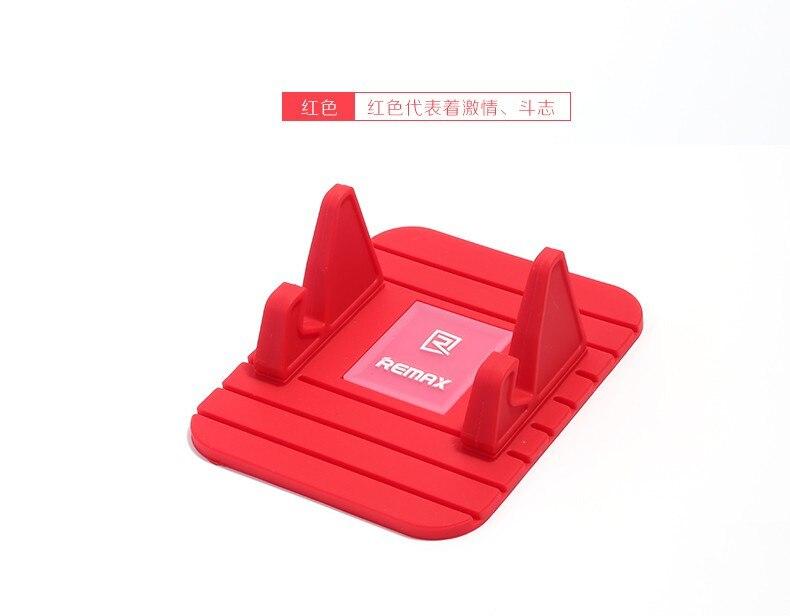 Remax miękkiego silikonu dashboard uchwyt telefonu uchwyt samochodowy gps anty poślizgu mata pulpit stojak uchwyt do iphone 5s 6 7 samsung tablet 9
