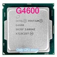 Kostenloser versand Intel Pentium Prozessor G4600 CPU LGA 1151-land FC-LGA 14 nanometern Dual-Core CPU