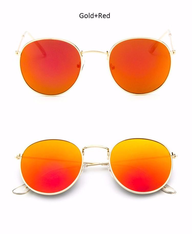 Vintage Round Mirror Sunglasses 23
