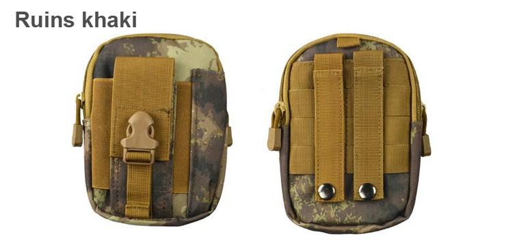 Uniwersalny Odkryty Wojskowy Molle Tactical Kabura Pasa Biodrowego Pasa Torba portfel kieszonki kiesy telefon etui z zamkiem błyskawicznym na iphone 7/lg 22