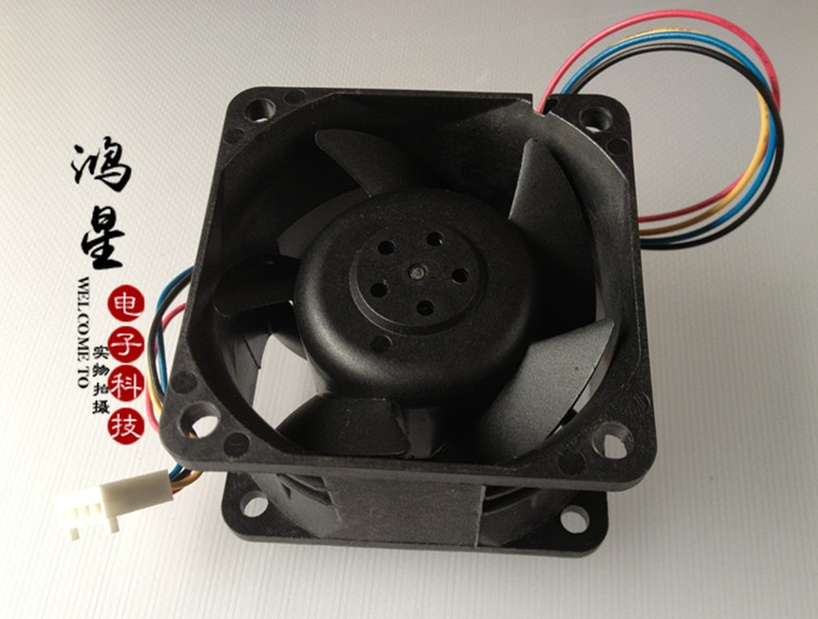 AFB0648EHE 6CM 6038 48V 0.35A server -end dual ball bearing fan 4-wire 60*60*38mm