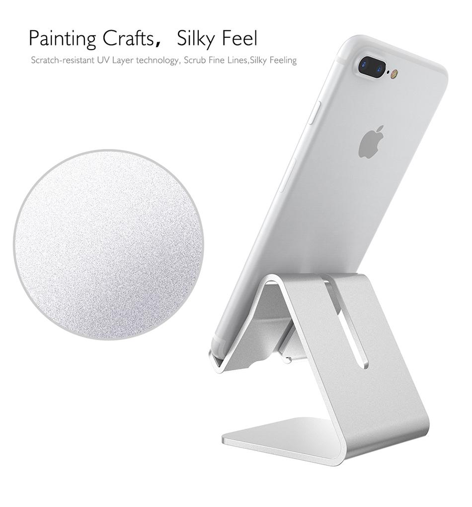 RAXFLY Uniwersalny Aluminium Metal Telefon Uchwyt Stojak Na iPhone 6 7 Plus Samsung Tabletka S8 Biurko Stojak Uchwyt Do Telefonu Inteligentnego Zegarka 8