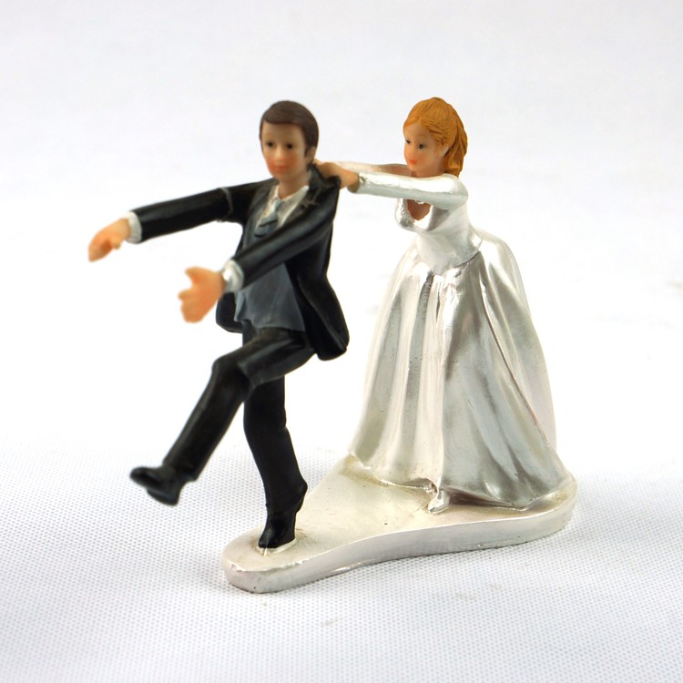 funny wedding cake figures resin figurine wedding cake topper wedding look 14568