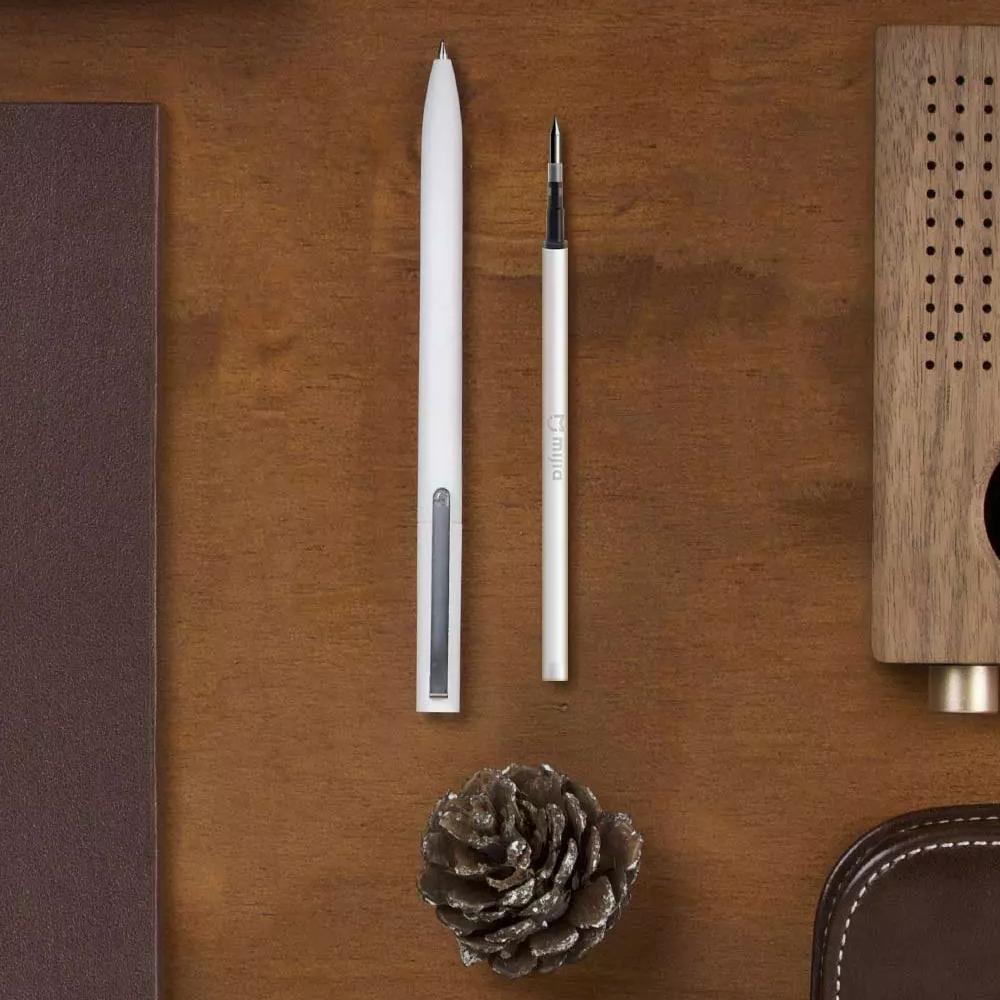 Oryginalny Xiaomi Podpisanie Pen PREMEC Mijia Znak Pióra 9.5mm Smooth Szwajcaria MiKuni Japonia Ink Refill dodać Mijia Długopis Czarny napełniania 8