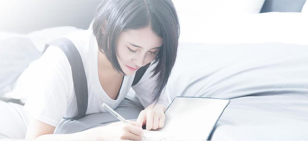 Oryginalny xiaomi podpisanie pen premec mijia znak pióra 9.5mm smooth szwajcaria mikuni japonia ink refill dodać mijia długopis czarny napełniania 11