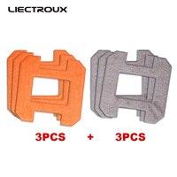 (X6) Liectroux 섬유 걸레 천 창 청소 로봇 X6, 6 개/갑