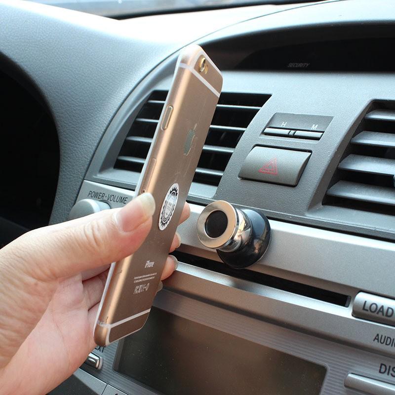 360 Stopni Uniwersalny Uchwyt Samochodowy Telefon Magnetyczne Air Vent Góra Uchwyt Samochodowy Telefon komórkowy Telefon komórkowy Stojak Akcesoria Do Telefonów Komórkowych 3