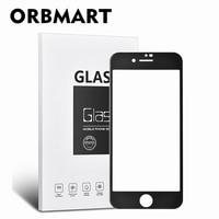 ORBMART フルボディフィルム Screnn マット強化ガラススクリーンプロテクター Apple の Iphone 6 6s 7 8 抗指紋 4.7 インチ電話