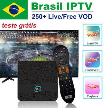 GoTV Brasil IPTV Box with 2 years IPTV subscription IPTV Server
