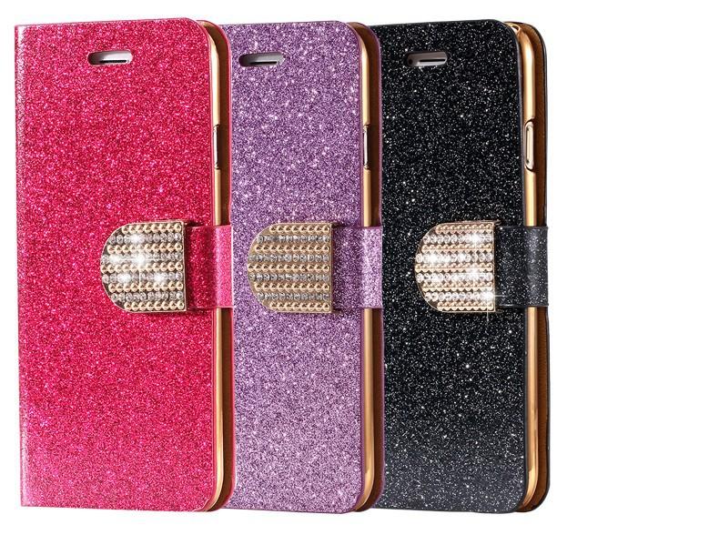 Kisscase dla iphone 5s case glitter bling skórzane etui dla iphone 5 5s se 6 6 s 7 plus stań portfel pokrywa dla iphone 7 7 plus SE 11