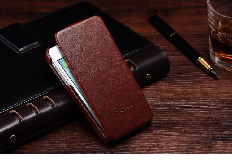 5S flip case dla iphone 5s 5 se pu skóra tomkas marki luksusowe phone tylna pokrywa coque dla apple iphone5 przypadki telefon 5 s torba 3