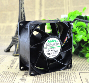 NIDEC 80*80*38 12V 1.5A V80E12BS2A7-07 8CM PWM four wire temperature air fan
