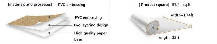 Głęboko Tłoczone 3D Tapeta Nowoczesna Zabytkowe Cegły Cegły Kamienia Wzór Papieru Rolki Tapety Dla pokoju gościnnego okładzina Ścienna Decor 1
