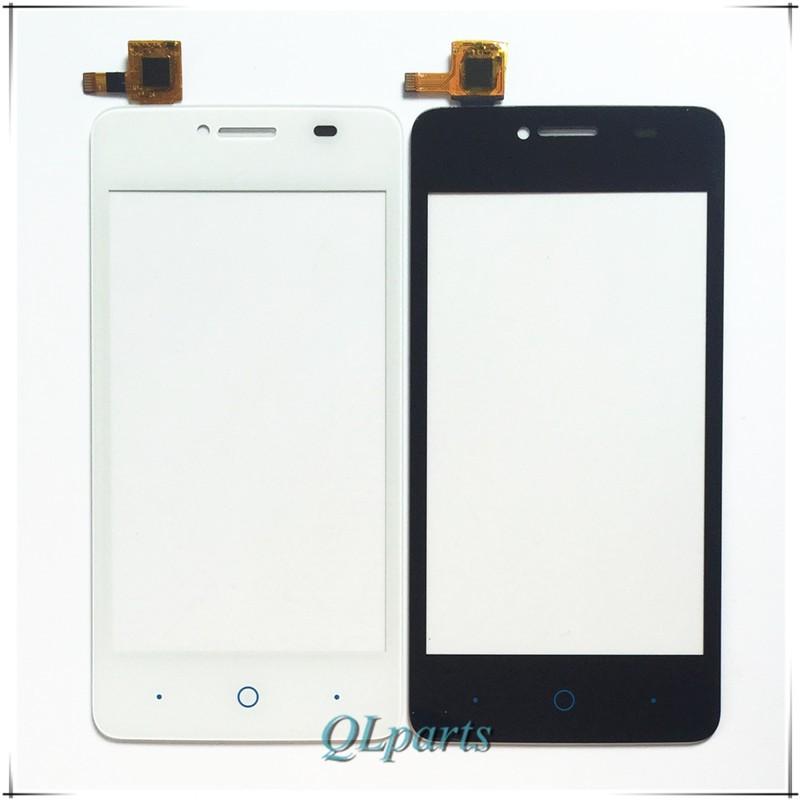 """4 """"ekran dotykowy czujnik do zte blade af3 t221 a5 a5 pro ekran dotykowy przedni panel dotykowy szkło digitizer wymiana z naklejki 2"""