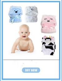 Dziecko bath towel gazy bawełnianej muślinu dziecko towel newborn cotton towel towel absorbingtowels miękkie myjka kreskówki dla dzieci 110*110 cm 5