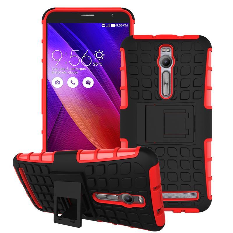 For Asus Zenfone 2 ZE551ML ZE550ML Case Heavy Duty Armor Stand Shockproof Hybrid Hard Soft Rugged Silicon Rubber Phone Cover HTB1zCmMJFXXXXX0XVXXq6xXFXXXn
