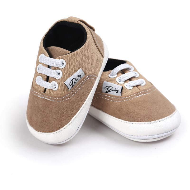 Wiosna Jesień Dziecko Noworodka Dziewczynka Chłopiec Miękkie Podeszwy antypoślizgowe Maluch Prewalker Niemowląt Sneaker Buty Na Co Dzień 27