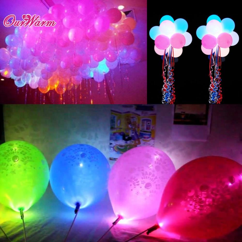 100pcs lot colorful led lamps lights for paper lantern - Led lights decoration ideas ...