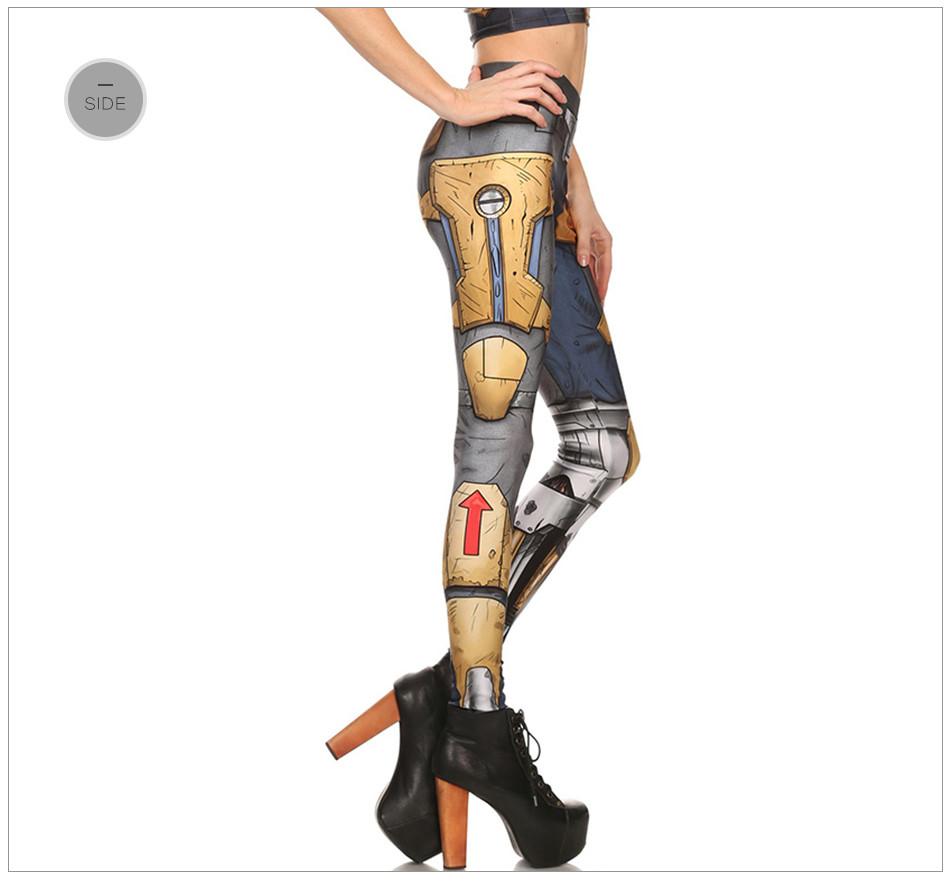 [Jesteś My Secret] Fashion Legginsy Kobiety Steampunk Star Wars Mujer leggin Kobiety Biegów Mechaniczna 3d Druku Cosplay hurtownie 26