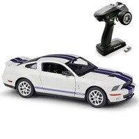 Hgm brinquedos 1/28 mini q9 rtr drift racing rc carro de controle remoto 6ch chassi metal para meninos presente ford mustang TH19507-SMT2