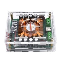 HIFI Bluetooth-kompatibel 5,0 TDA7850 4 Kanal 50W x 4 Auto Stereo Sound Subwoofer Power Verstärker Bord Bass AMP mit Äußere Sh