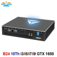 Mini PC Gamer Intel Core I9-10900F i7-10700F Nvidia GTX 1650 4G Mini Pc Gamer Windows 10 Pro HDMI 2,0 DP DVI 3*4K Display HDR