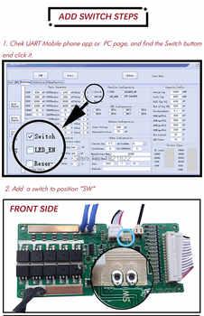 BMS 10S 30A/40A/50A active smart bms 10s 42v Li-ion smart bms
