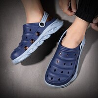 Men's Sandals 2021 Summer Sneakers Flat Shoes Male Slippers For Men Casual Loafers Flip Flops Garden Galoshes Boy Sandal