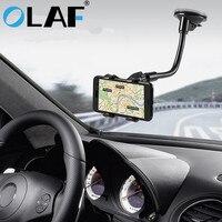 אולף טלפון מחזיק רכב גמיש 360 תואר סיבוב הר שמשה קדמית טלפון נייד מחזיק טלפון מכונית טלפון בעל תמיכה GPS
