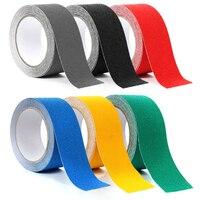 1pcs new 5cm * 5M PVC surface matte anti-slip tape light dark handle traction belt stair step waterproof wear-resistant safety
