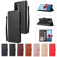 Leder Fall für Xiaomi Redmi Hinweis 10 10S 9 9S 9T 8T 8 7 6 5 pro Max 4X 9A 8A 7A 6A 9i Funda POCO M3 F3 X3 NFC Flip Brieftasche Coque