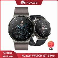 HUAWEI WATCH GT 2 Pro Smartwatch, 사파이어 시계 다이얼, 내장 GPS 스마트 워치, 14 일 배터리 수명, 피트니스 트래커, 고속 충전