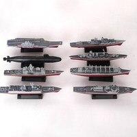4D 조립 된 선박 모델 요oning 전함 현대 클래스 전함 항공 모함 모델 군사 군함 모델 장난감