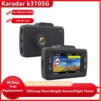 Karadar 3 in 1 DVR Video Recorder Kamera Gps Unterschrift Radar Detektor für Russland Antiradar detektor K310SG für Auto