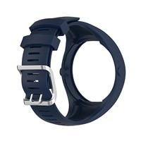 교체 팔찌 PolarS M200 스마트 워치 액세서리 실리콘 스트랩 통기성 시계 팔찌 벨트 스포츠 시계 스트랩