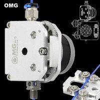 OMG Alle Metall Aluminium Direkt Extrud Dual Stick Bowden Für 3D Drucker Ender 3 Update Orbiter Titan Aero BMG E3D MK8 H2 V6