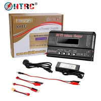 HTRC Imax b6 v2 밸런스 충전기 80W, 전문 디지털 방전기 LiHV LiIonLiFe NiCd NiMH PB 배터리 LiPo 충전기