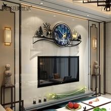 MEISD 장식 벽시계 대형 크리 에이 티브 석영 시계 침묵 홈 장식 블루 Horloge 거실 장식 무료 배송