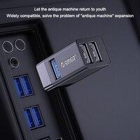 Orico Wireless USB Hub Splitter 3 in 1 5Gbbs High Speed USB 3,0 2,0 Stick Kostenloser Power Extender Verbindung
