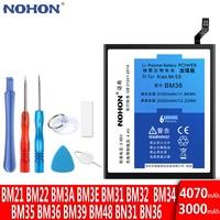 NOHON Batterie Für Xiaomi Mi 9 SE Lite 9T Pro 4C 5S 8 6 5 5X 6X BM4E BM22 BM35 BM36 BM39 BM3B BM3L BM3E BM3M Ersatz Bateria