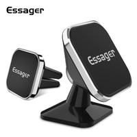 Essager מגנטי מכונית טלפון בעל מגנט הר נייד טלפון סלולרי Stand Telefon GPS תמיכה עבור IPhone Xiaomi MI Huawei סמסונג